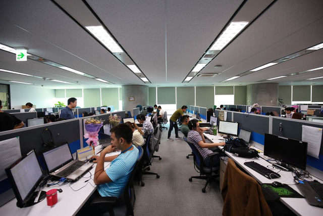 Văn phòng làm việc tại công ty gmt solution