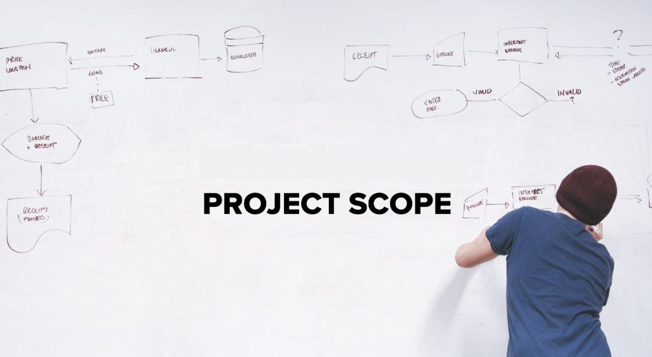 Xác định phạm vi dự án cần thực hiện khi viết phần mềm theo yêu cầu